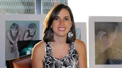 Artist Ashley Brickner