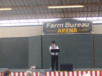 Performing at the Kansas State Fair.