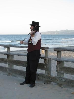 Rising Phoenix Morris - Our musician.