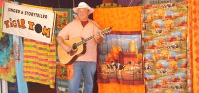 "Singer and Storyteller ""Tiger"" Tom Walsh"