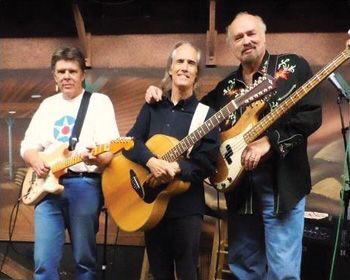 The Jangle Brothers - From Left to Right - Billy Darnell - John York - Chad Watson