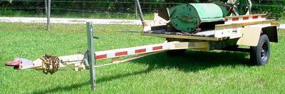 Utility trailer 20'