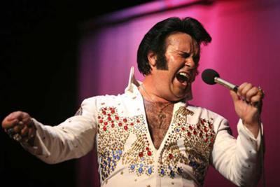 Rick Wade as Elvis